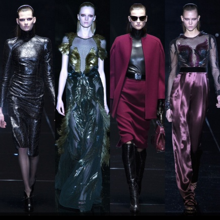 Gucci Fall 2013. Fuentes: Style.com